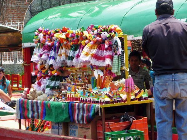 Mexico Xochimilco vendeur flottant 2 (2)