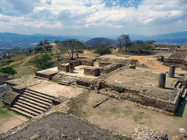 Monte Alban 2 Plateforme Nord (3)