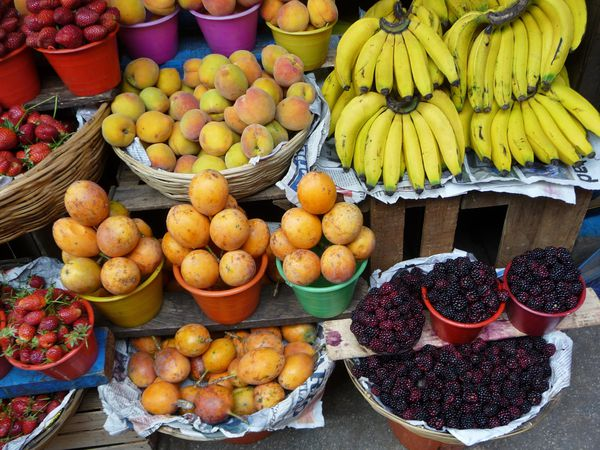 San Cristobal fruits