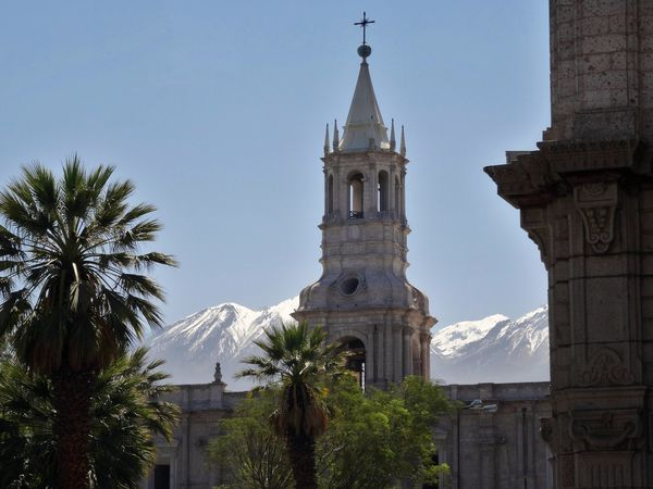 Arequipa cathédrale clocher
