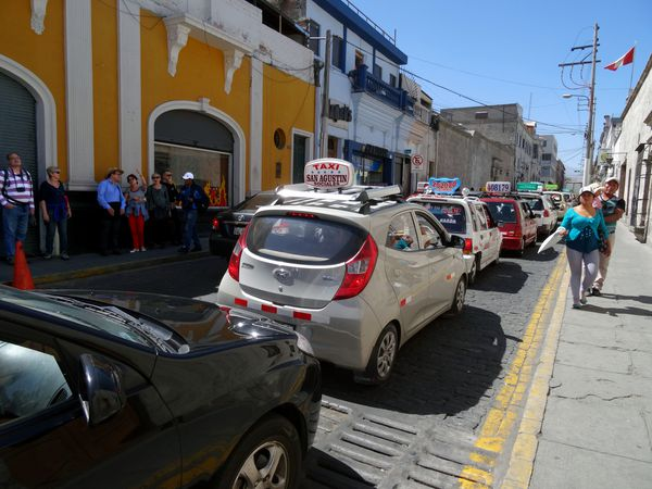 Arequipa taxis