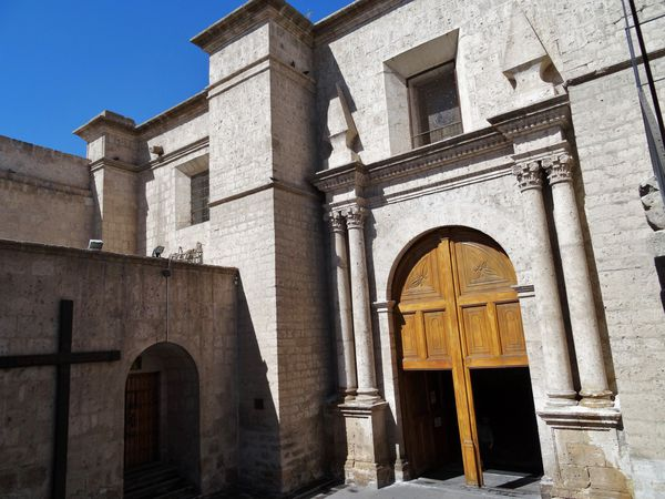 Arequipa cathédrale entrée