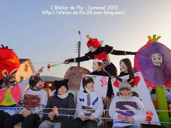 Carnaval Donchery 2013 Alice aux pays des Merveilles FloMegardon-10