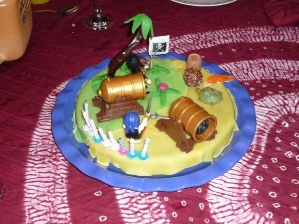gateau ile des pirates