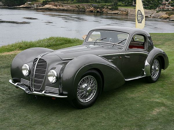 voitures de legende 83 delahaye 145 chapron coupe 1937 victor association. Black Bedroom Furniture Sets. Home Design Ideas