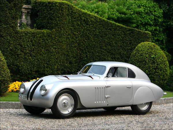 voitures de legende  154    bmw 328 mille miglia touring