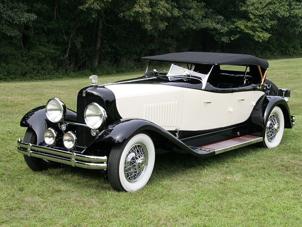 voitures de legende 33 dupont model h merrimac sport phaeton 1930 victor association. Black Bedroom Furniture Sets. Home Design Ideas