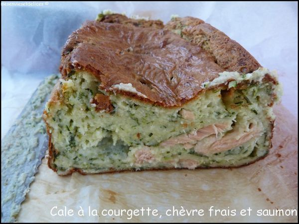Cake Sal Ef Bf Bd Avec Courgette