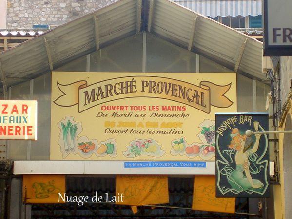 Marché provençal de Antibes