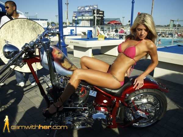 2012 biker babes Gorgeous blonde 003 www.camwithher.com