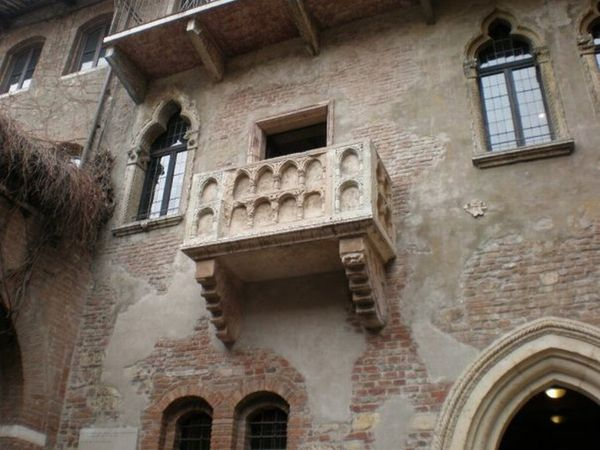 Verona Balcony of Giulietta]