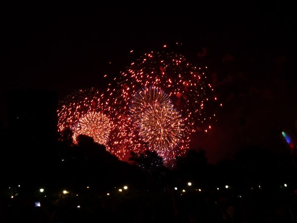 4th of Juky Fireworks 011 red