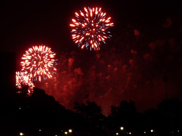 4th of Juky Fireworks 014 red
