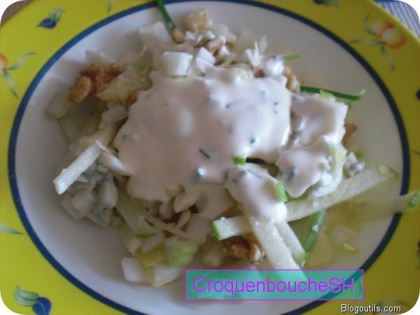 Salade-repas légère aux chiconx 1.