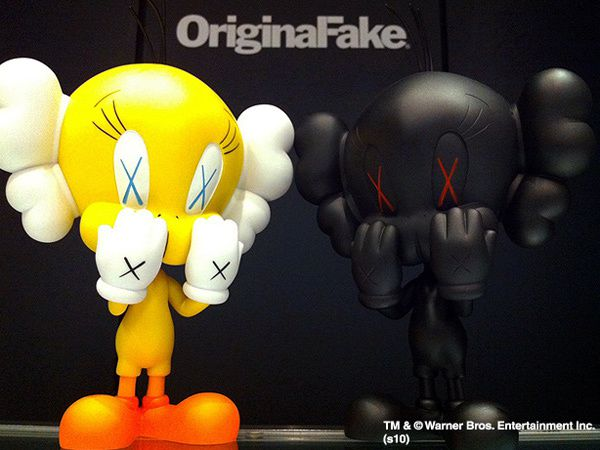 Kaws Tweety by Original Fake x Medicom