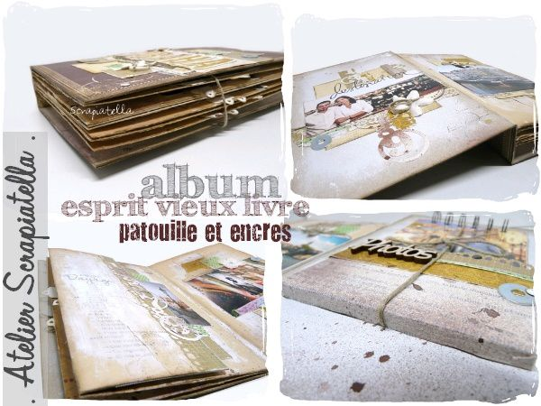 visuels album esprit vieux livre