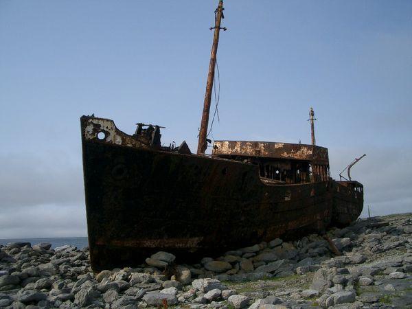 Thap aranisland wreck
