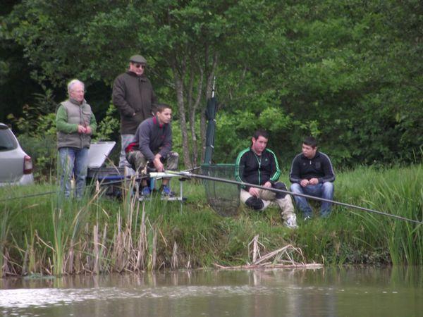 Journée découverte pêche loisir Chardes 25 05 13 033