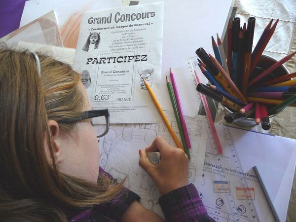 Concours dessin Carnaval