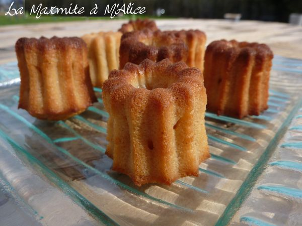 cannelés coco