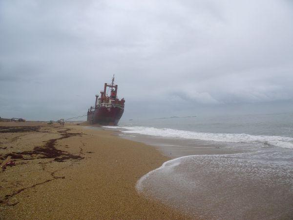 La plage de Kerminihy