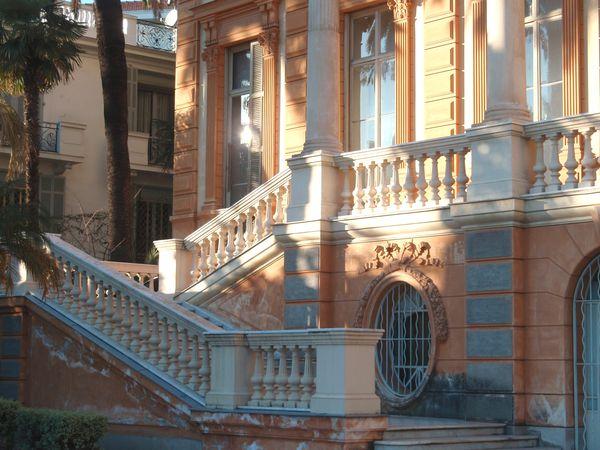 Double escalier symétrique