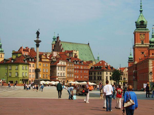 Varsovie-Place du Chateau3