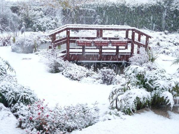 petit pont 1ère neige