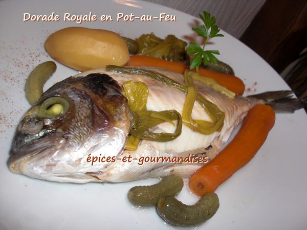 DAURADE ROYALE EN POT AU FEU CIMG4696 (2)