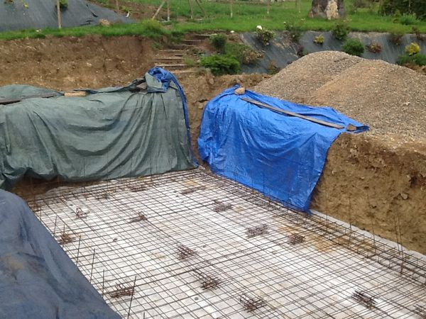 Le trou le blog de samy73 for Construction piscine zone agricole