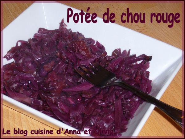 potée de chou rouge