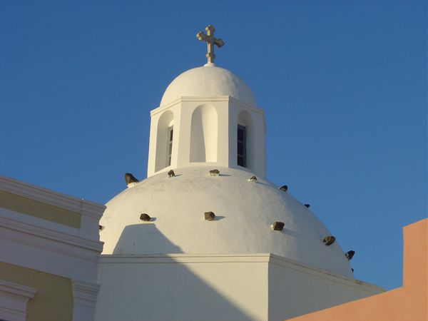 Santorin Fira églises