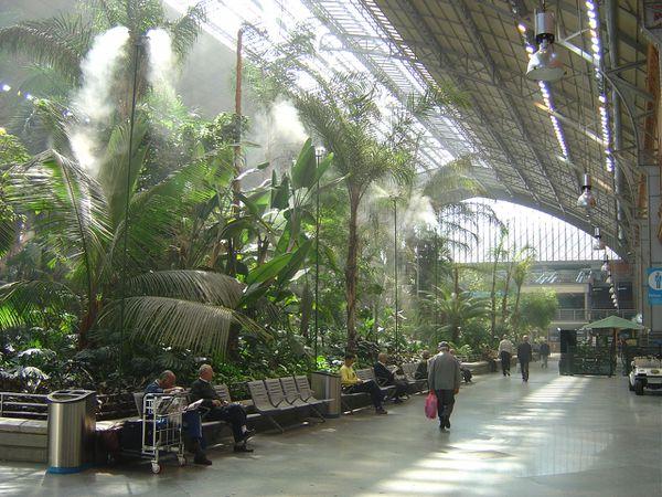 Madrid gare d 39 atocha lankaart - Gare de lyon jardin des plantes ...