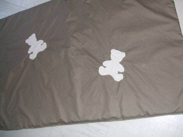 COUETTE OURSON Taupe/Ivoire