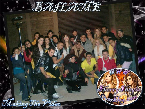 making the video Bailame (4)