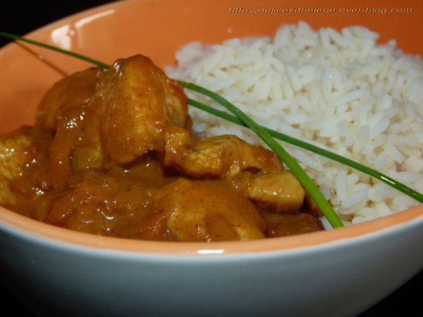 curry de poulet minute 2