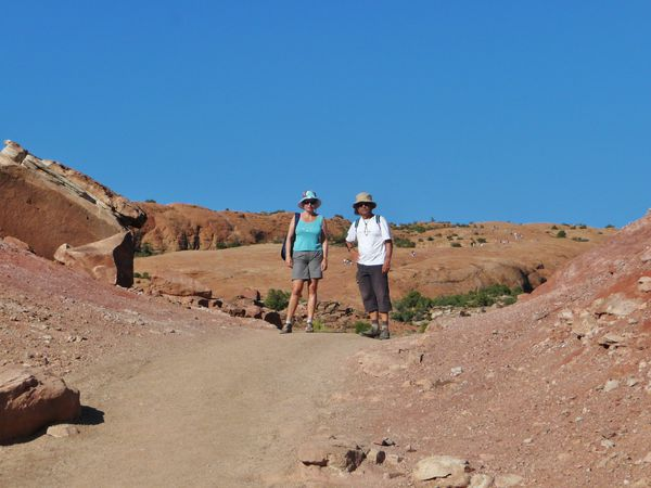 Jour 5 Arches Delicate Arch trail 2