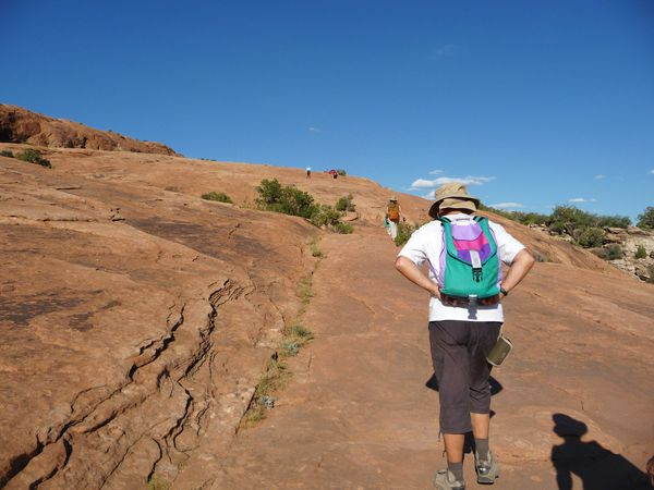 Jour 5 Arches Delicate Arch trail 3
