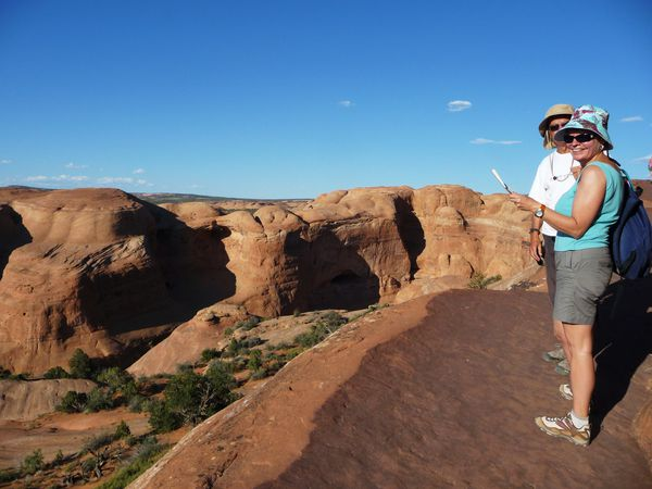 Jour 5 Arches Delicate Arch trail 4