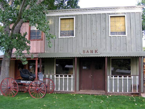 Kanab Frontier Movies bank