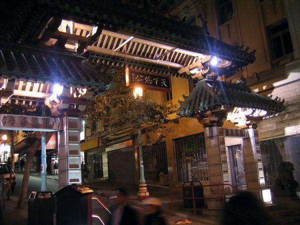 San Francisco Chinatown Gate
