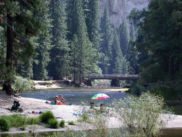 Yosemite Merced River plage
