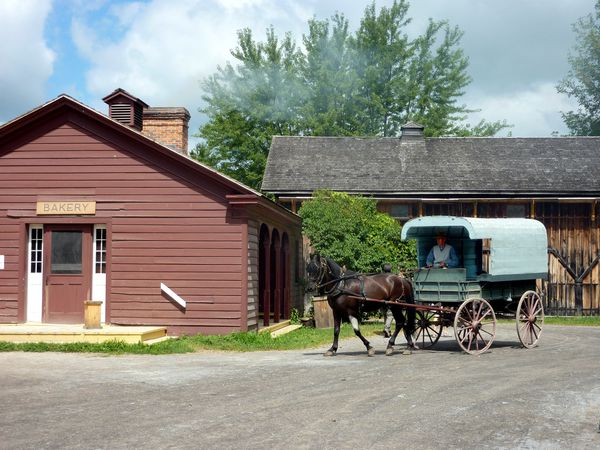 Upper Canada Village Bakery