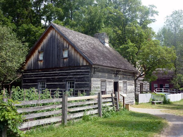 Upper Canada Village maisons