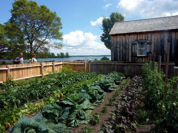 Upper Canada Village potager