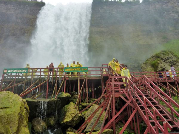 Niagara Falls Cave of the Winds Hurricane Deck