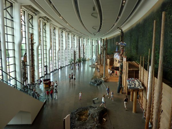 Ottawa Musée Civilisations Grande galerie