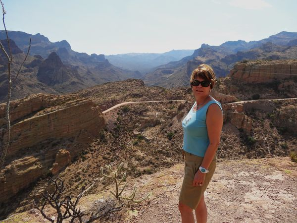 Apache Trail overlook Martine