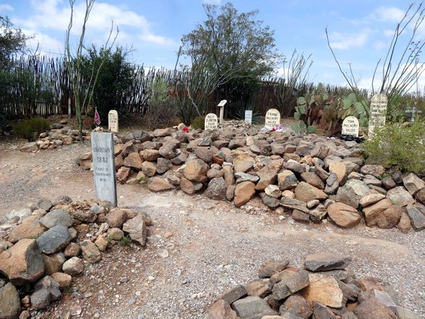 Tombstone Boothill Graveyard 5
