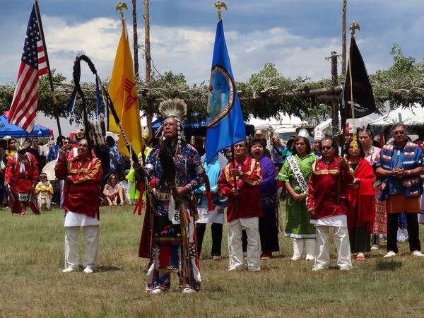 Taos Pow Wow 37 Grand Entry